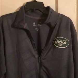 Nike NY JETS Mens Track Jacket Full Zip  Green